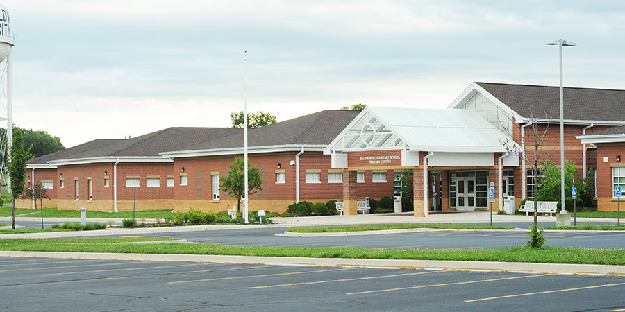 Picture of Baldwin Primary Center front entrance