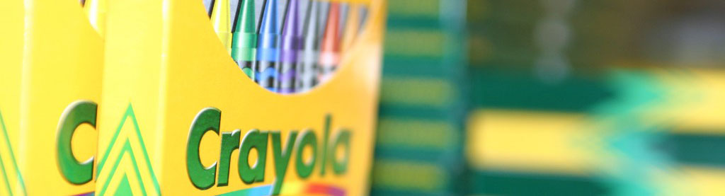 Photo of Crayola crayons